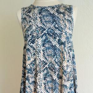 NEW Lindsay dress, Size S, Snake printed